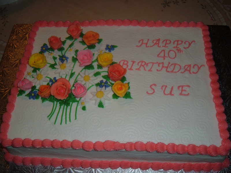 Happy Birthday Sue Cake Pictures to Pin on Pinterest ...